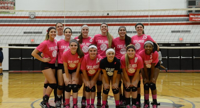 Congrats to the Varsity Volleyball Team: 2014 League Champs, Red Division