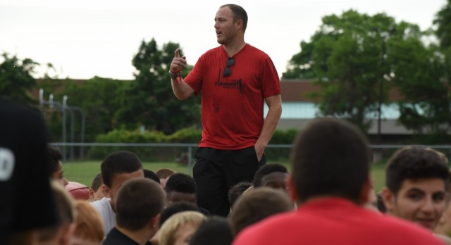 Tim Shaw Football Camp hosted by Clarenceville High School