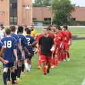 Boys JV Soccer vs Wayne Memorial 08-27-2015