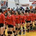 Girls Varsity Volleyball vs Belleville 09-08-2016