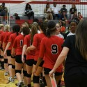 Girls JV Volleyball vs Belleville 09-08-2016