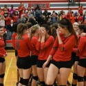Varsity Volleyball vs St Clair Shores South Lake 11-08-2016
