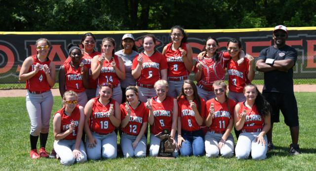 Clarenceville High School Varsity Softball beat Redford Union High School 15-5