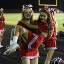 CHS Sideline Cheer – Garden City Game 10-13-2017