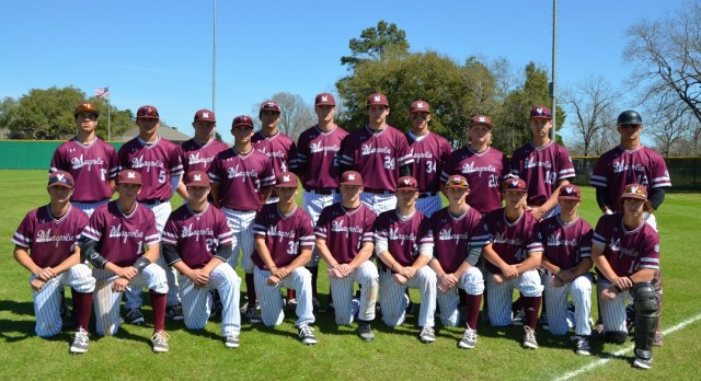 Magnolia High School Varsity Baseball beat College Station High School 3-2