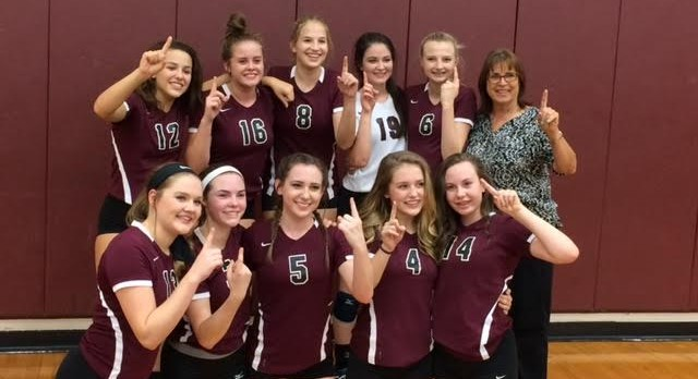 Freshmen Maroon Lady Bulldogs- District Champs