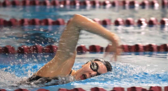 Swim & Dive Team Qualifies for State after Strong Showing at Region Championship