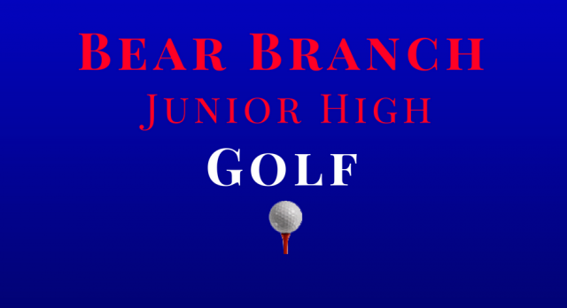 Junior High Golf Meeting & Tryouts