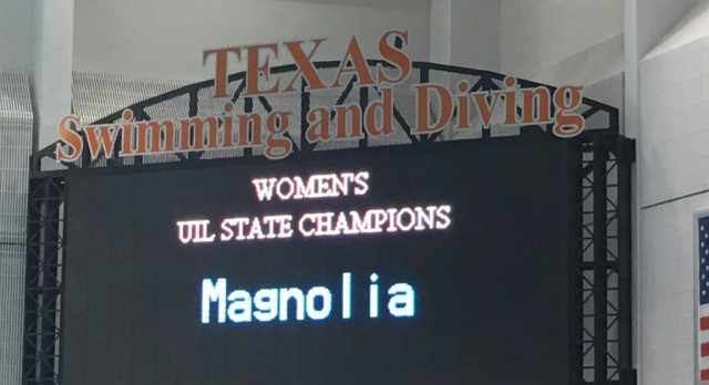 Hot Diggity DAWG! Lady Bulldogs Win Swim & Dive 5A State Championship