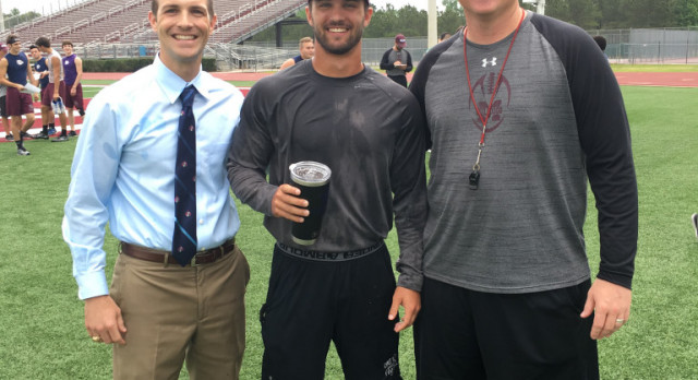 Coach Sides Named MHS Rookie Teacher of the Year