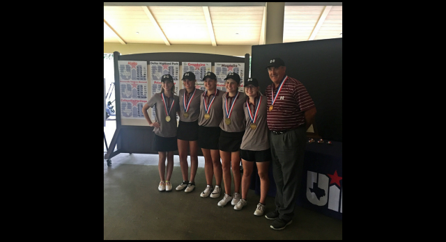 Magnolia High School Girls Varsity Golf finishes 3rd place at State