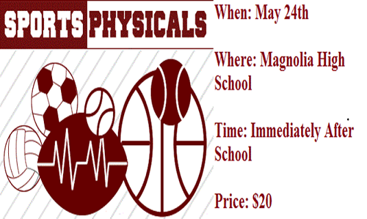 2017-2018 Sports Physicals