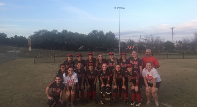 Eagle Softball Brings Home Hardware