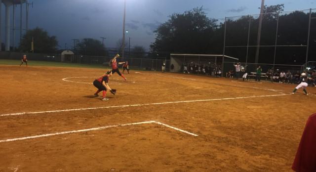 Eagle Softball Against Taylor