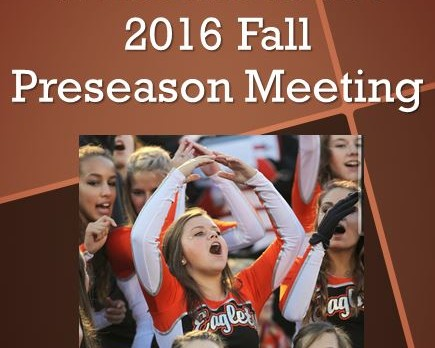 North Olmsted Athletic Department / OHSAA Mandatory Fall Meeting Information