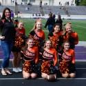 Girls JV sideline Cheer