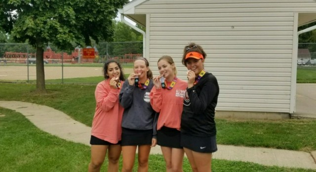 Girls Tennis Finishes in 4th in the SWC