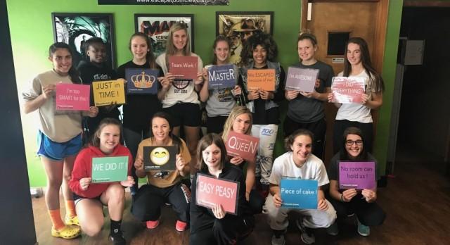 Eagle Girls Basketball Team Escapes