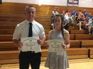 Mary and Chandler - AG Sportsmanship Awards