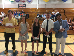 Spring Sports Sportsmanship Winners 2017