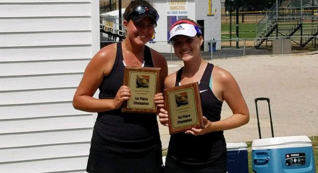 Oita and Hughes win Lakewood Doubles Tournament