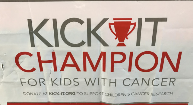 "Athletic Aides to Help Raise Money for ""KICK IT"""