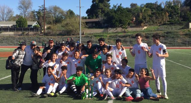 Boys Soccer Wins the Tilson Classic!