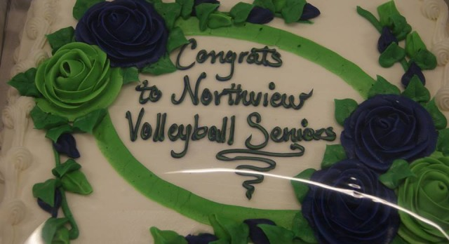 Varsity Volleyball Celebrates Senior Night