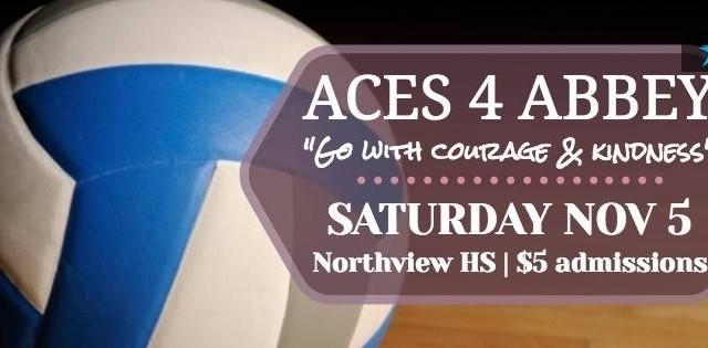 "Aces 4 Abbey – ""Go with Courage & Kindness"""