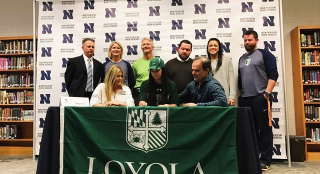 Muzi Signs With Loyola University Maryland
