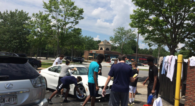 Boys Basketball Car Wash – SUCCESS!