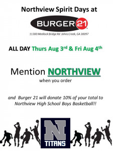 Spirit Night Flyer