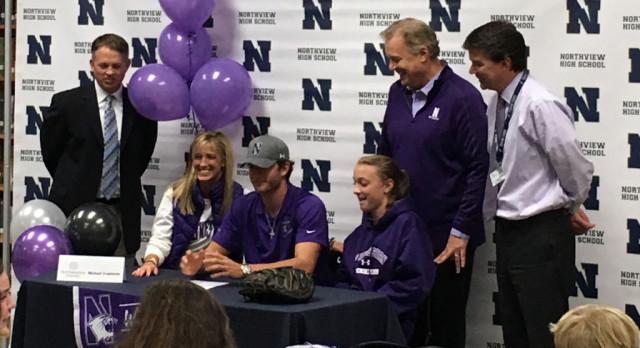 Trautwein Signs with Northwestern