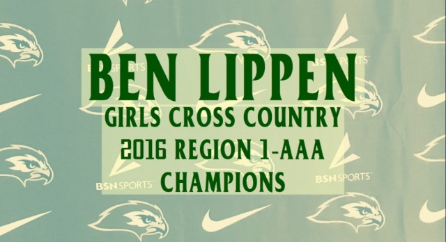 Falcons Girls Cross Country Win Region Championship!