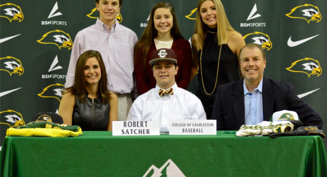 Robert Satcher Signs to Play Baseball at College of Charleston