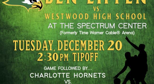 Falcons Basketball vs. Westwood at Charlotte Hornets Spectrum Center Ticket Information