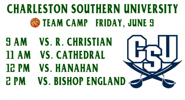 Ben Lippen Basketball Participates in Charleston Southern University Team Camp