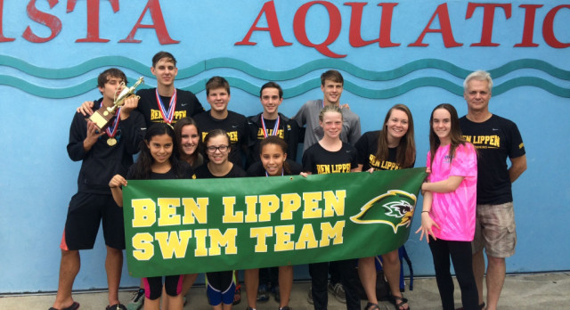 Falcons Fly In the Water at SCISA State Swim Meet