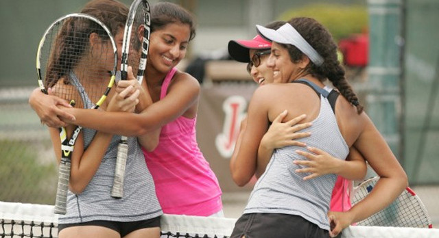 TENNIS FINISHES RANKED THIRD IN INLAND EMPIRE; EMILY WANG FIRST TEAM