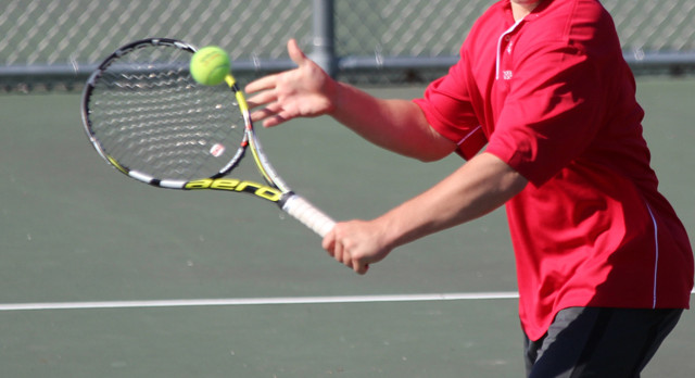 DOUBLE TROUBLE FOR TENNIS AT GREAT OAK