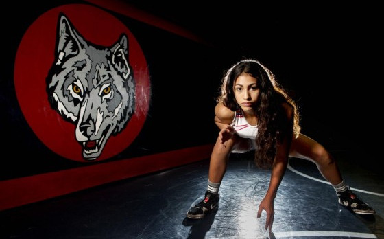 GIRLS WRESTLING ON THE RISE AT KING