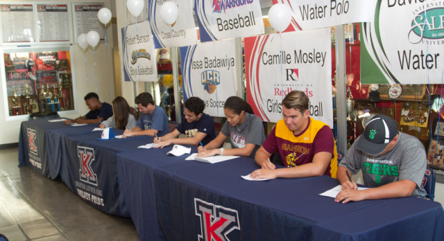 SPRING NATIONAL LETTER OF INTENT SIGNING CEREMONY