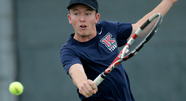 TENNIS ON CLOUD 9 AFTER FIRST ROUND WIN