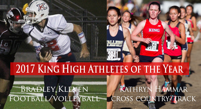 KING HIGH ATHLETES OF THE YEAR