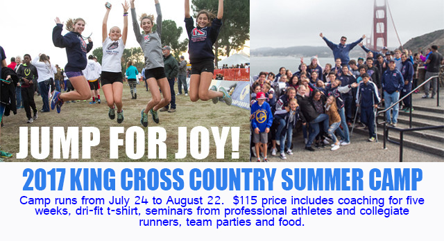 CROSS COUNTRY SUMMER CAMP STARTS JULY 24