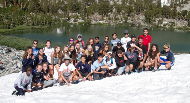 "CROSS COUNTRY'S 18TH MAMMOTH LAKES CAMP ANCHORS TO ""ONE WORD"""