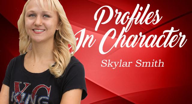 PROFILE IN CHARACTER – SKYLAR SMITH