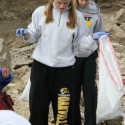 Girls Swim Teams Cleans up Cliff Cave Park