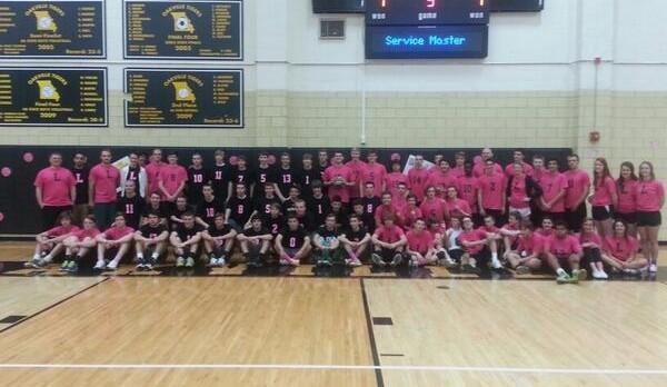 Volleyball Teams Unite this Season