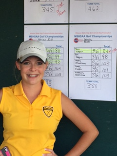 District Golf Sends Senior Tara Vogler to Sectionals